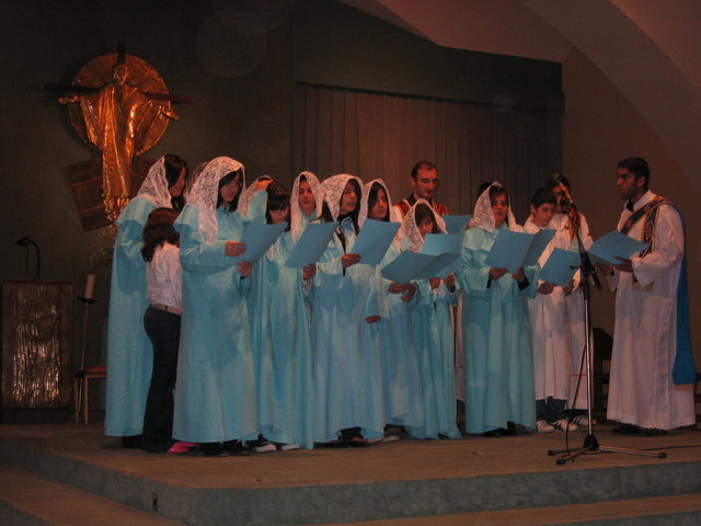 Choeur de l'Eglise syriaque orthodoxe