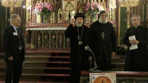 Bénédiction Mgr Athanassios