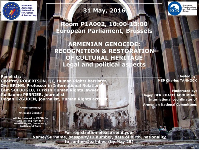 31-05-2016 Bxl Armenians