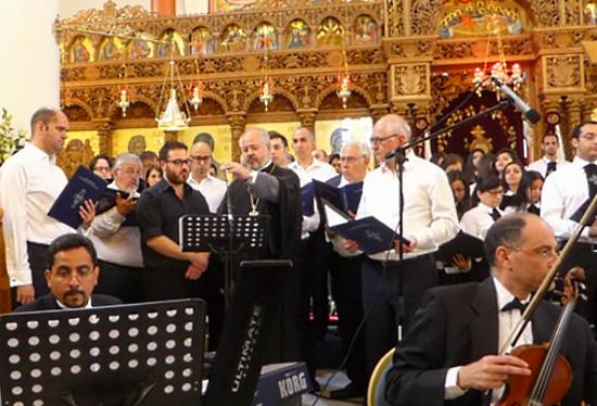 7 mai 2016 Concert inter-ecclésial à Londres