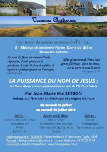 Vacances chretiennes JME Setbon
