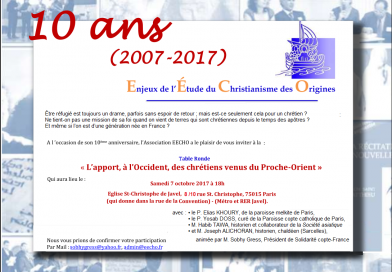 Table ronde – 10 ans – 7 octobre 2017
