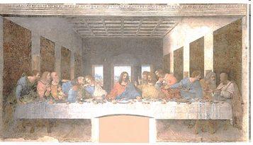 La <EM>Cène</EM> de Léonard de Vinci