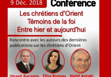 Conférence le 9 Décembre 2018, Paris