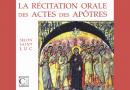 <EM>Parution</EM> : Les Actes des apôtres – P. Fr. Guigain