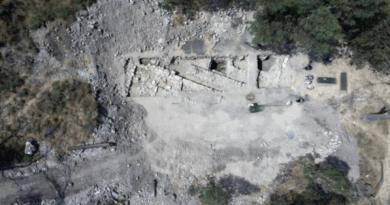 Traces de la maison des apôtres Pierre et André à Bethsaïde