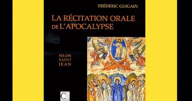 <EM>Parution</EM> : L'Apocalyspse, Frédéric Guigain