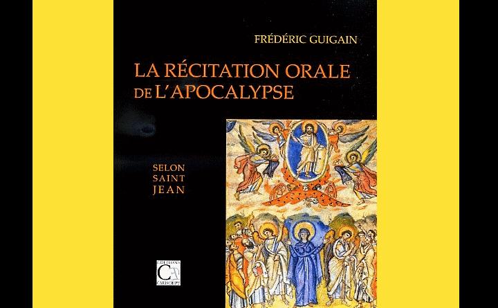 <EM>Parution</EM> : L'Apocalypse, Frédéric Guigain