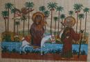 La Sainte Famille en Egypte -1