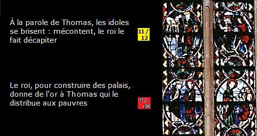 Tours St Thomas vitraux 9-12
