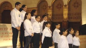 Choeur enfants coptes orthodoxes (2)