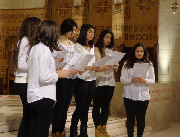 Filles syriaques orthodoxe-1