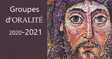 Calendrier oralité Paris 2020-2021