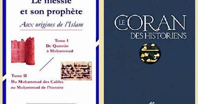 Refus a priori des racines ex-judéochrétiennes de l'islam et croyances aberrantes